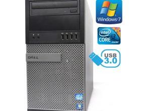 Dell Optiplex 7010 i3 3240 3,40Ghz 4GB RAM 240GB SSD HDD DVD W7P